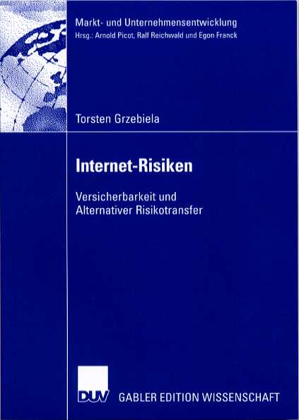 Internet-Risiken - Versicherbarkeit und Alternativer Risikotransfer
